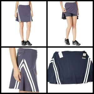 """New, MSRP $75, Nike Golf 17"""" Dry UV Skirt"""